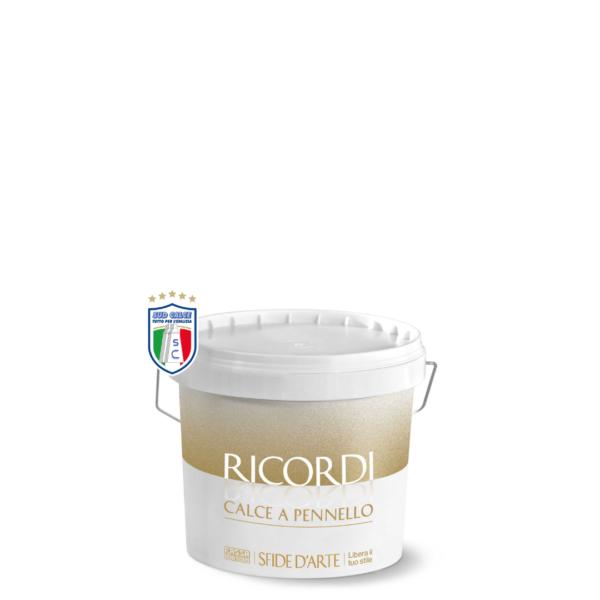 Pittura decorativa bianca RICORDI CALCE a PENNELLO 14LT Fassa Bortolo